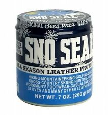 SNO SEAL BEES WAX WATERPROOFING FOR LEATHER BOOTS SHOES