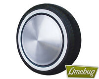 "White Wall Stripe Toppers Tyres 4x 16"" Whitebands Wheel Set Camper Beetle T1 T2"