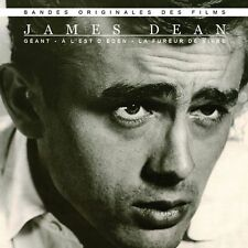 CD James Dean East of Eden Rebel Without a Cause Giant Movie Soundtrack / OST
