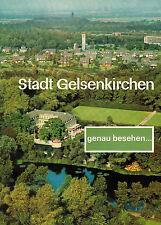 Gelsenkirchen genau besehen, Image Broschüre, mehrsprachig, z.T. farbig, GE 1965