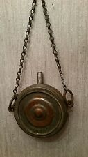 ANTIQUE RARE METAL WATER CANTEEN