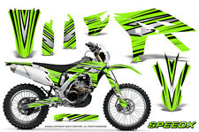 YAMAHA WR450F 2012-2013-2014 GRAPHICS KIT CREATORX DECALS SPEEDX BG