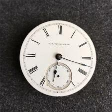 VINTAGE 18 SIZE RICHMOND HAMPDEN PRIVATE LABEL OPENFACE POCKET WATCH MOVEMENT