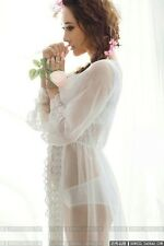 White Photography Props Maternity Maxi Dress Studio Clothing For Pregnant Women