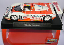 SLOT.IT CA19A TOYOTA 88C  #36  UK SLOT CAR FESTIVAL 2014  LTED.ED.500UNITS  MB
