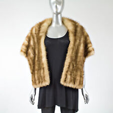 Stone Martin Fur Stole - One Size Fits All - Pre-Owned