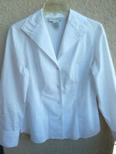 Doncaster White Shirt  Sheared Collar  M
