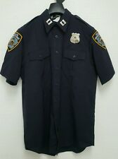 POLICE UNIFORM SHIRT/CAMICIA, poliziotto, NYPD, LAPD, Gr: S, M, XL, XXL New York Police