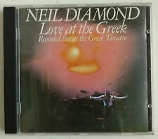 Neil Diamond Love At The Greek Recorded Live At The Greek Theatre CD UK 1991