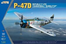 Kinetic Models [KIN] 1:24 P-47D Thunderbolt Plastic Model Kit KIN3207