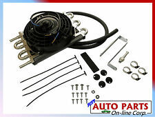 "Universal Auto Trans Oil Cooler w/ fan 8"" ALL GMC CHEV FORD fits NISSAN TOYOTA"