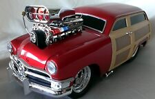 MUSCLE MACHINES '50 FORD WOODIE 1:18 DIE CAST