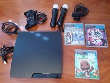 Sony PlayStation 3 Slim Move Bundle 320 GB Charcoal Black Console (PS398470)