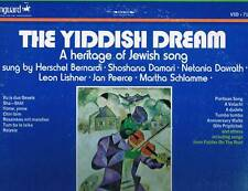 THE YIDDISH DREAM -A Heritage Of Jewish Song- 1971 Vanguard Double Album