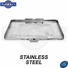67-72 Chevy C/K Pickup Battery Tray Housing BOTTOM Only  - STAINLESS STEEL