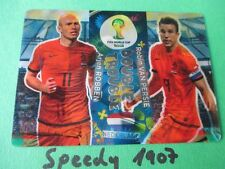 FIFA World Cup Brasil 2014 Double Trouble Holland Robben Persie Panini Adrenalyn