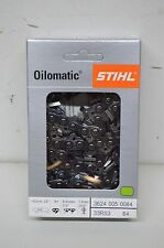"NEW STIHL 25"" Chain 33RS384  #3624 005 0084 Rapid Super  84DL 3/8""P .050""G"