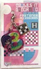 Gundam 00 Tieria Fastener Accessory August Metal Charm Anime Manga Game MINT