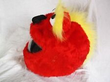 MOTORBIKE FUNNY HEEDS CRAZY CRASH HELMET COVERS MOTORCYCLE  RED YELLOW MOHICAN
