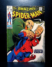 COMICS: Amazing Spiderman #69 (1969), Kingpin app - RARE (figure/rhino/lizard)
