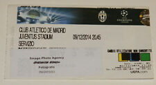 Ticket for collectors CL Juventus Torino - Atletico Madrid 2014 Italy Spain