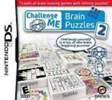Challenge Me: Brain Puzzles 2 GAME Nintendo DS DSI XL LITE 3 3DS 2 2DS