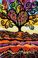 Tree of Love by Jenny Hahn Poster Motivational Art Print 24x36