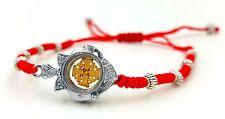 EVIL EYE PROTECTION BRACELET Rotating Jerusalem CROSS Christian Jewelry Holyland