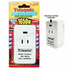 Foreign Travel Voltage Converter 220V To 110V Power Adapter 50W-1650W Switchable