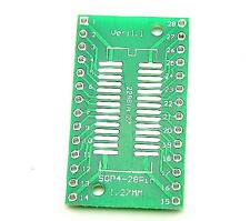 10pcs TSSOP28 / SSOP28 to DIP28 Pinboard SMD to DIP Adapter 0.65/1.27mm NEW
