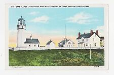 Cape Blanco,Oregon,Light House,Western Most Point in Oregon,Used,Cloverdale,1950