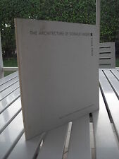 THE ARCHITECTURE OF DONALD SINGER BY JAMES A. FINDLAY 1999