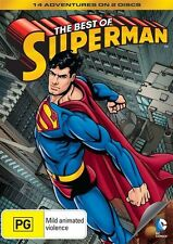 Superman: The Best of Superman DVD NEW
