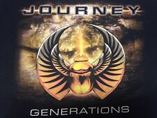 Journey 2005 Generations Tour Black Small T-Shirt Rock Music Band