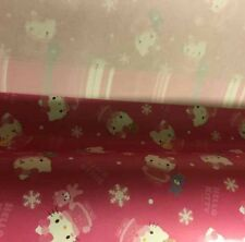 Sanrio Hello Kitty 2014 Holiday 5pc Paper Gift Wrapping Paper