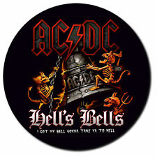 Parche imprimido, Iron on patch, /Textil sticker, Pegatina/ - AC/DC, AC DC, C