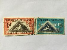 1953 South Africa Nice Stamps . SC 193-194
