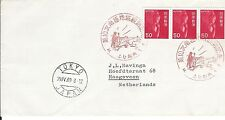Japan 1969 Antarctic Expedition  cover to the Netherlands