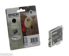EPSON T0611 to611 T061140 Black Ink Originale