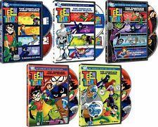 Teen Titans . The Complete Season 1 2 3 4 5 . Staffel . DC Comics . 10 DVD . NEU