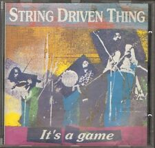 STRING DRIVEN THING It's a Game CD 11 track LIVE 1973-74 LONDON