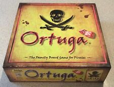 2012 Board Game - Ortuga - The Family Board Game for Pirates - 100% Complete