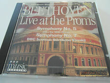 BBC Music - Beethoven Symphony No 5 & 7 / Live At The Proms (CD Album) Used Good