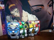 Voltron Defender of the Universe Complete Lion Set 5 Embossed Tins DVD Anime NEW