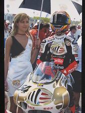 Photo MS Aprilia RSV250 2004 #54 Manuel Poggiali (RSM) on grid
