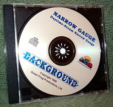 "56012 MODEL RAILROAD SOUND EFFECTS AUDIO CD ""NARROW GAUGE STEAM DAY"""