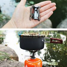 Portable Min Ultra light Folding Gas Stove Burner For Outdoor Camping Picnic