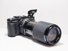 80-200mm= lens 160-400mm on LUMIX G HD 4K Micro 4/3 Digital PEN GH2 G6 G5 G3 GM1