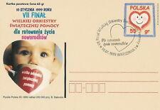 Poland postmark WARSZAWA - VII final WOSP (analogous)