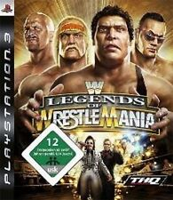 Playstation 3 WWE LEGENDS OF WRESTLEMANIA * Neuwertig